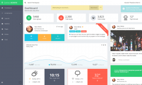 02Cameo  Responsive Admin Dashboard