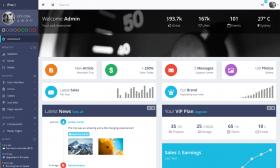 13ProUI - Responsive Bootstrap Admin Template  DEMO