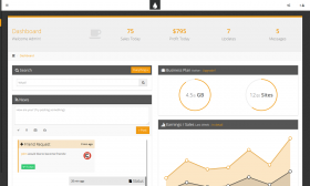 34FreshUI - Premium Web App and Admin Template  DEMO
