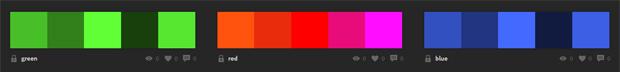 カラーホイール---カラースキーム---Adobe-Color-CC2