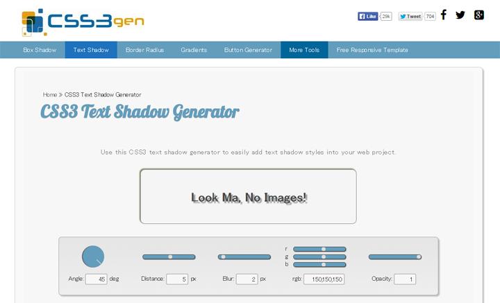 11CSS3-Text-Shadow-Generator---CSS3gen