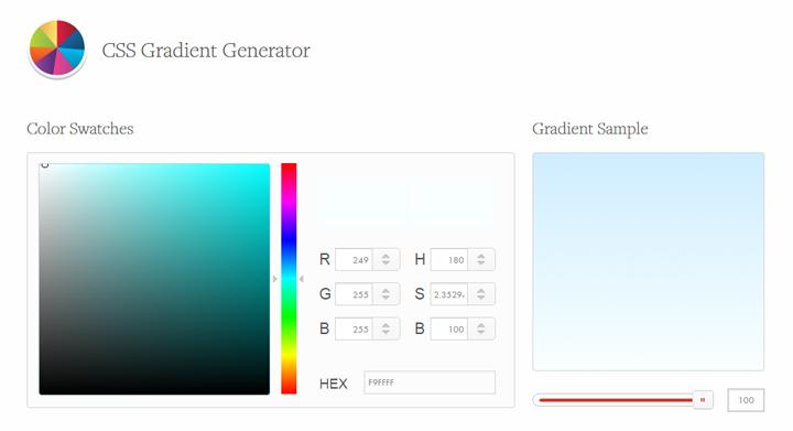 2CSS-Gradient-Generator---CSS3-Factory