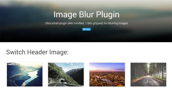 Image-Blur-Plugin