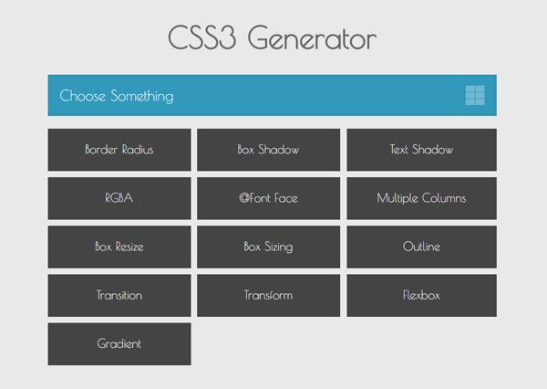4CSS3-Generator