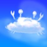 【自作背景】photoshopで雲を描く