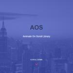 jQuery不要!簡単にスクロールアニメーションを実現できるAOSを使おう